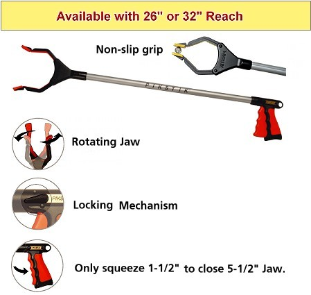 Pik Stik Grab Stick Reacher